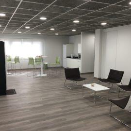 Sala de espera y office